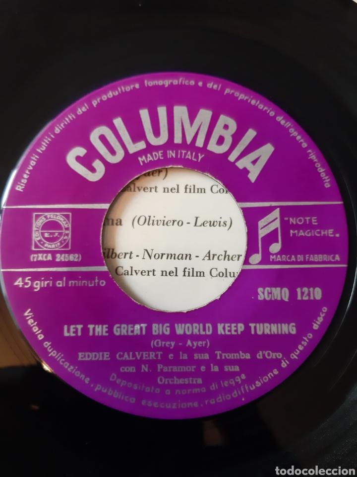 Discos de vinilo: EP. EDDIE CLAVERT. THEY DIDNT BELIVE ME + 3. COLUMBIA. ITALIA. - Foto 3 - 198886126