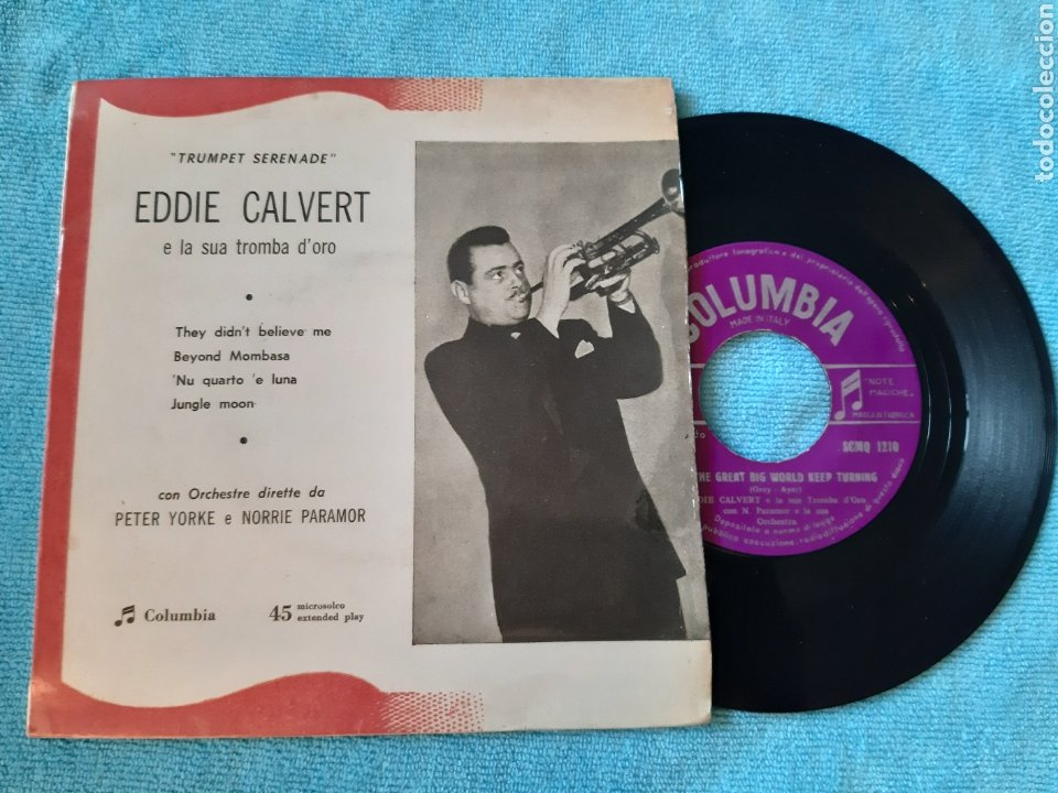 EP. EDDIE CLAVERT. THEY DIDN'T BELIVE ME + 3. COLUMBIA. ITALIA. (Música - Discos de Vinilo - EPs - Jazz, Jazz-Rock, Blues y R&B)