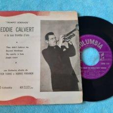 Discos de vinilo: EP. EDDIE CLAVERT. THEY DIDN'T BELIVE ME + 3. COLUMBIA. ITALIA.. Lote 198886126