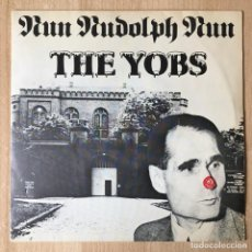 Discos de vinilo: THE YOBS – RUN RUDOLPH RUN / THE WORM SONG, UK 1977 NEMS. Lote 198887221