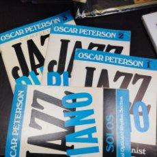 Disques de vinyle: OSCAR PETERSON. JAZZ PIANO. PARTITURAS. Lote 198890317