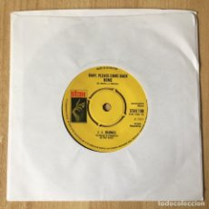 Discos de vinilo: J. J. BARNES – BABY PLEASE COME HOME, UK 1969 STAX. Lote 198891485