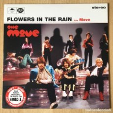 Discos de vinilo: THE MOVE – FLOWERS IN THE RAIN, EDICIÓN LIMITADA ROJO UK 2007 SALVO. Lote 198892310
