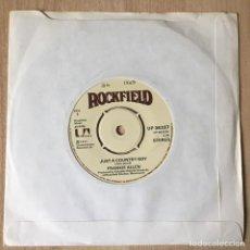 Discos de vinilo: FRANKIE ALLEN – JUST A COUNTRY BOY, UK 1977 ROCKFIELD. Lote 198892508