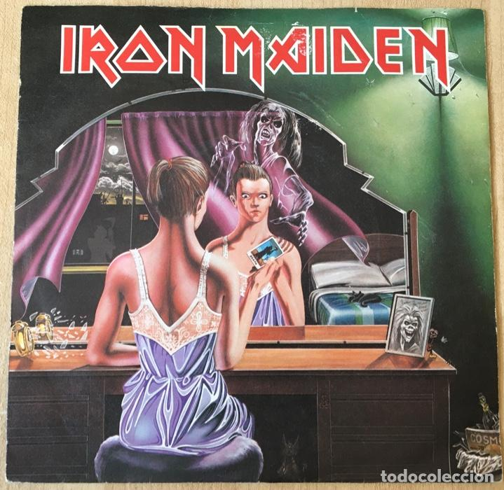 IRON MAIDEN – TWILIGHT ZONE / WRATHCHILD, ROJO, UK 1981 EMI (Música - Discos - Singles Vinilo - Heavy - Metal)