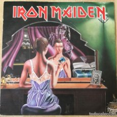 Discos de vinilo: IRON MAIDEN – TWILIGHT ZONE / WRATHCHILD, ROJO, UK 1981 EMI. Lote 198901916