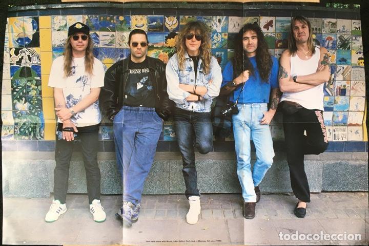 Discos de vinilo: Iron Maiden – Hallowed Be Thy Name (Live), Rojo - Funda Poster, UK 1993 EMI - Foto 4 - 198902485