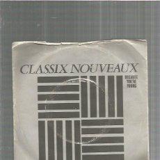 Discos de vinilo: CLASSIX NOUVEAUX BECAUSE. Lote 198903493