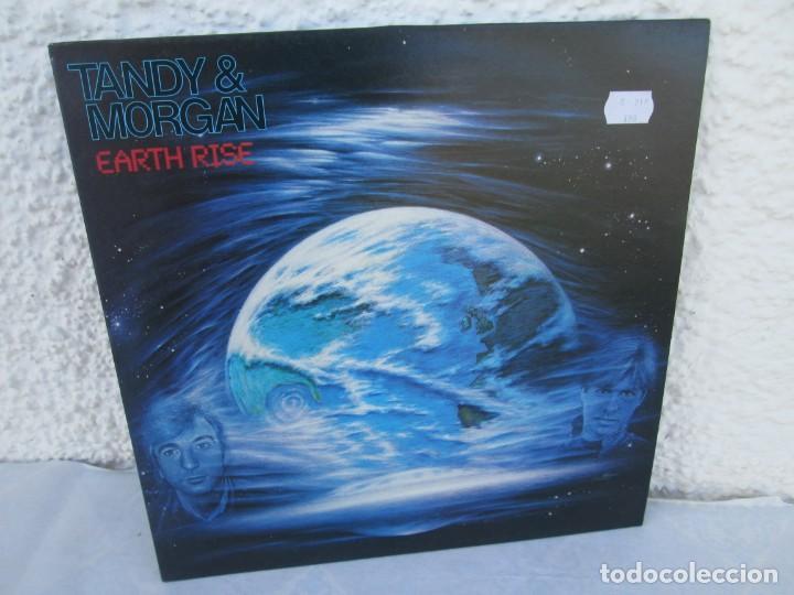 TANDY & MORGAN. EARTH RISE. LP VINILO. FM. 1986. VER FOTOGRAFIAS ADJUNTAS (Música - Discos - LP Vinilo - Electrónica, Avantgarde y Experimental)