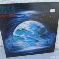 Discos de vinilo: TANDY & MORGAN. EARTH RISE. LP VINILO. FM. 1986. VER FOTOGRAFIAS ADJUNTAS. Lote 198908790
