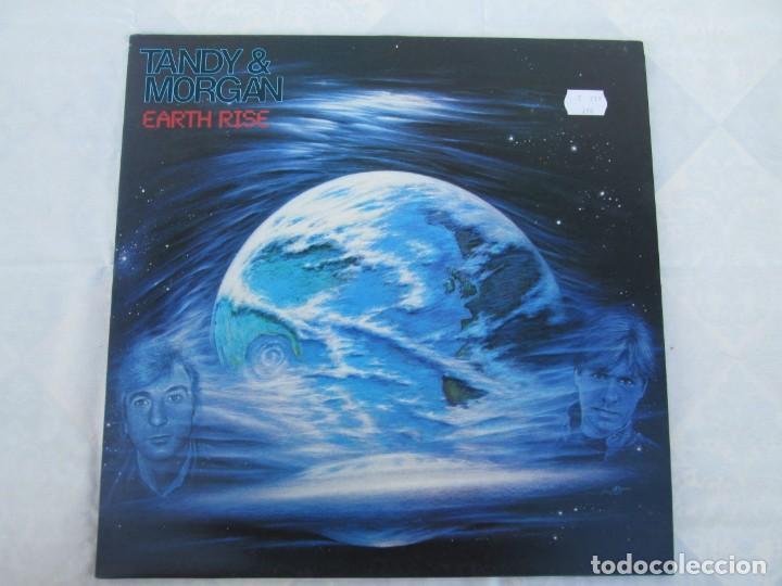 Discos de vinilo: TANDY & MORGAN. EARTH RISE. LP VINILO. FM. 1986. VER FOTOGRAFIAS ADJUNTAS - Foto 2 - 198908790
