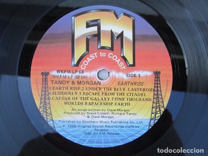 Discos de vinilo: TANDY & MORGAN. EARTH RISE. LP VINILO. FM. 1986. VER FOTOGRAFIAS ADJUNTAS - Foto 4 - 198908790
