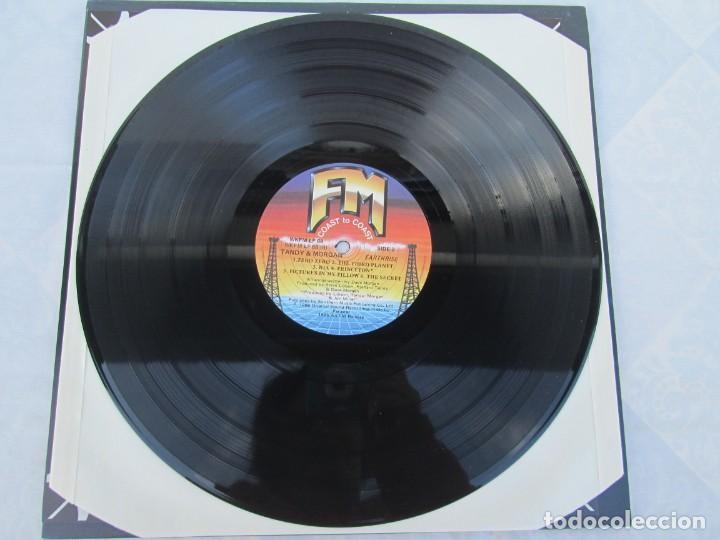 Discos de vinilo: TANDY & MORGAN. EARTH RISE. LP VINILO. FM. 1986. VER FOTOGRAFIAS ADJUNTAS - Foto 5 - 198908790