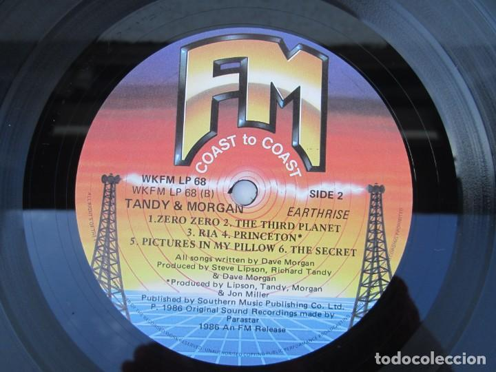 Discos de vinilo: TANDY & MORGAN. EARTH RISE. LP VINILO. FM. 1986. VER FOTOGRAFIAS ADJUNTAS - Foto 6 - 198908790