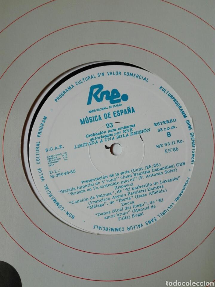 Discos de vinilo: 13 LP TRANSCRIPCIONES DE RNE CON MÚSICA DE ESPAÑA lp col completa Aproximación a la historia musica - Foto 2 - 198909817
