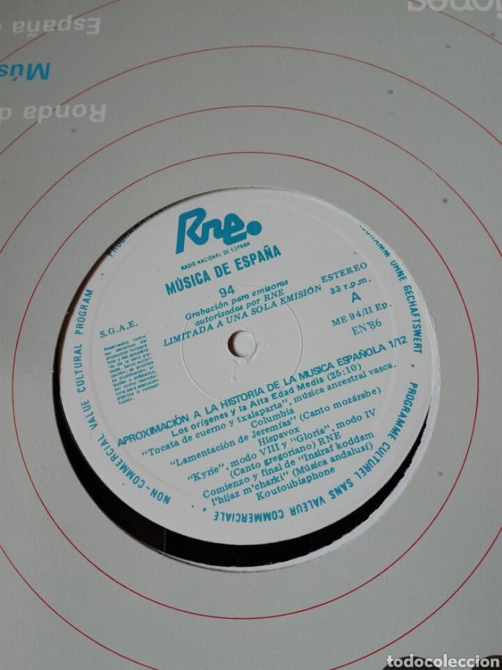 Discos de vinilo: 13 LP TRANSCRIPCIONES DE RNE CON MÚSICA DE ESPAÑA lp col completa Aproximación a la historia musica - Foto 3 - 198909817