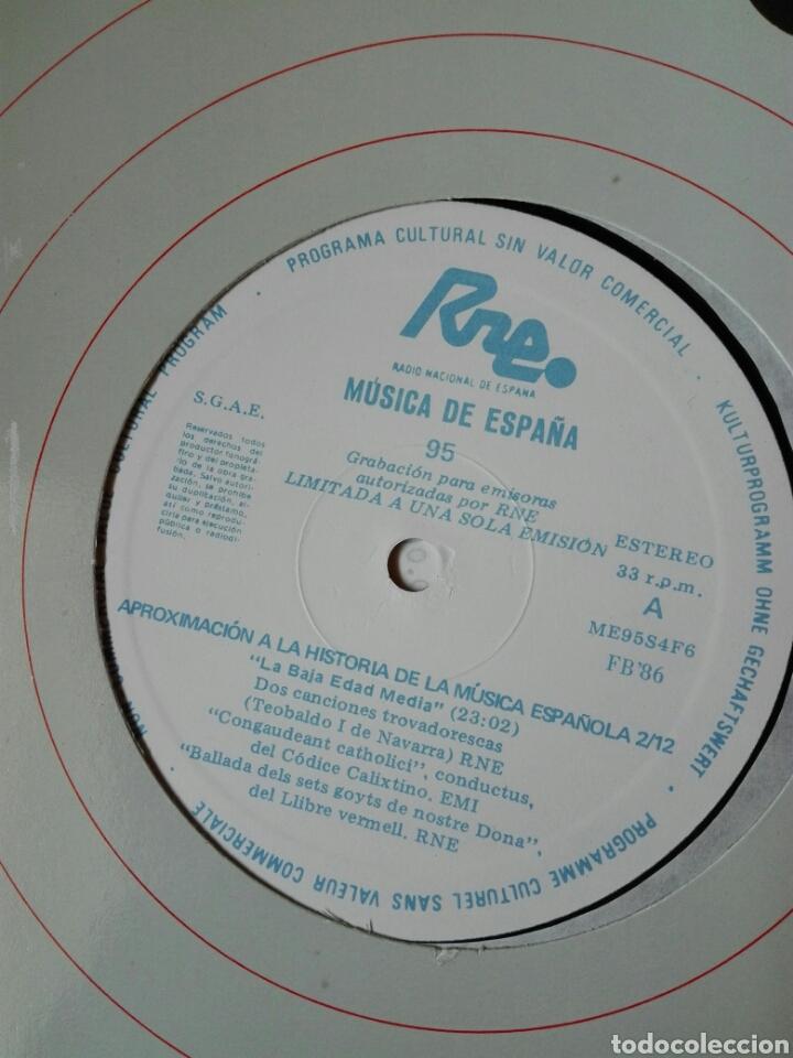 Discos de vinilo: 13 LP TRANSCRIPCIONES DE RNE CON MÚSICA DE ESPAÑA lp col completa Aproximación a la historia musica - Foto 4 - 198909817