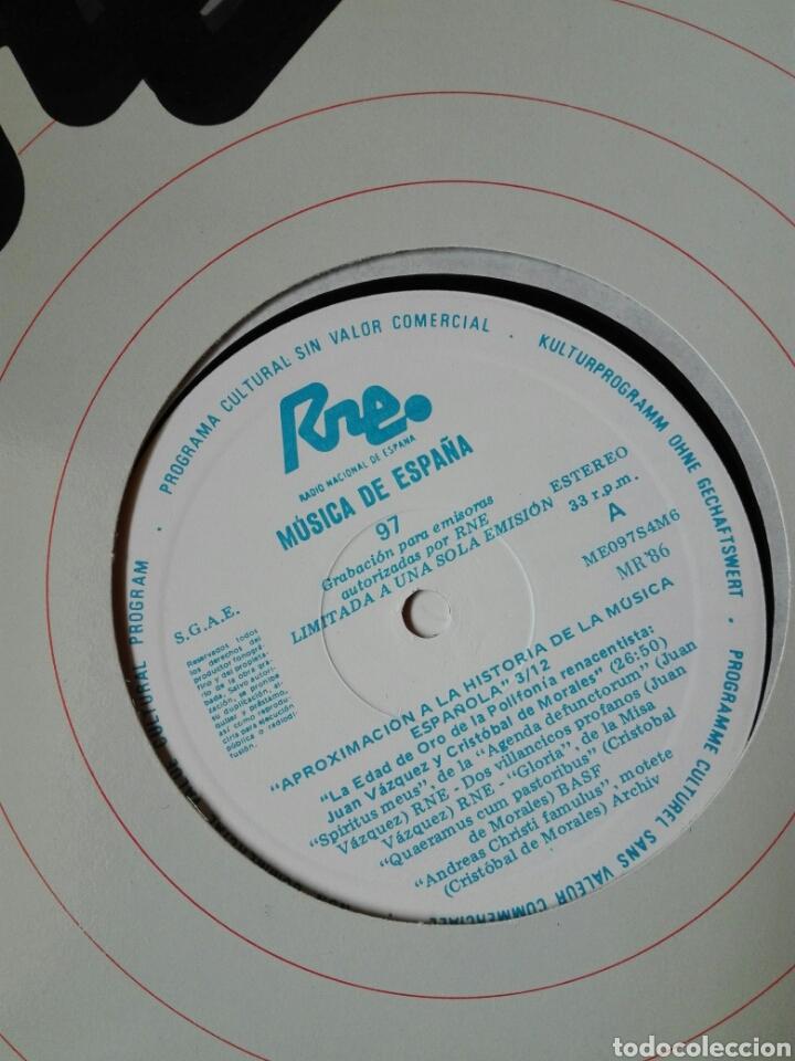 Discos de vinilo: 13 LP TRANSCRIPCIONES DE RNE CON MÚSICA DE ESPAÑA lp col completa Aproximación a la historia musica - Foto 5 - 198909817