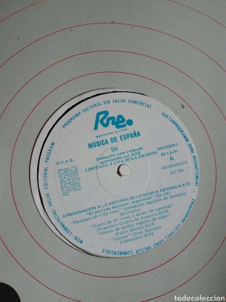 Discos de vinilo: 13 LP TRANSCRIPCIONES DE RNE CON MÚSICA DE ESPAÑA lp col completa Aproximación a la historia musica - Foto 7 - 198909817