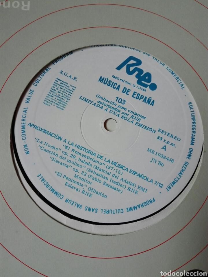 Discos de vinilo: 13 LP TRANSCRIPCIONES DE RNE CON MÚSICA DE ESPAÑA lp col completa Aproximación a la historia musica - Foto 9 - 198909817