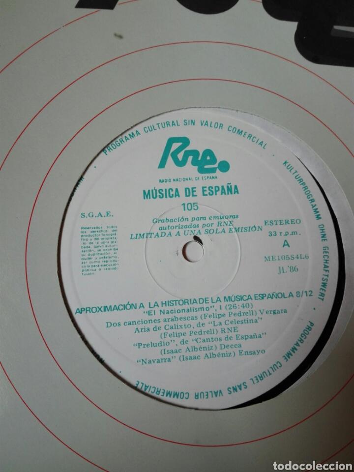 Discos de vinilo: 13 LP TRANSCRIPCIONES DE RNE CON MÚSICA DE ESPAÑA lp col completa Aproximación a la historia musica - Foto 10 - 198909817