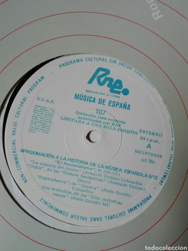 Discos de vinilo: 13 LP TRANSCRIPCIONES DE RNE CON MÚSICA DE ESPAÑA lp col completa Aproximación a la historia musica - Foto 11 - 198909817