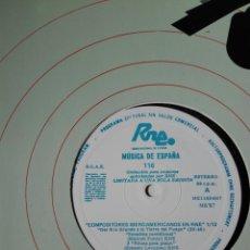Discos de vinilo: 12 LPS. TRANSCRIPCIONES RNE CON MÚSICA DE ESPAÑA . COL COMPLETA COMPOSITORES IBEROAMERICANOS EN RNE. Lote 198920177