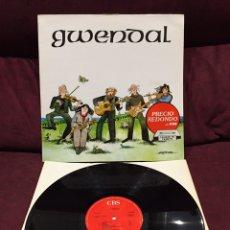 Discos de vinilo: GWENDAL - GWENDAL LP. Lote 198921072