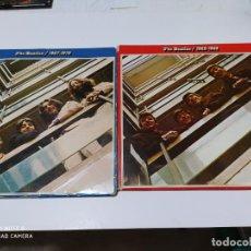Discos de vinilo: THE BEATLES 1962-66 1967-70 4 LPS EDICIONES ESPAÑOLAS DE 1973 . Lote 198921085