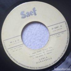 Discos de vinilo: COBLA MARAVELLA - ADEU GENIS - EP 1960 - SAEF. Lote 198922207