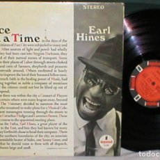 Discos de vinilo: EARL HINES LP 1960S ONCE UPON A TIME PIANO JAZZ POST BOP BIG BAND IMPULSE A-9108 MUY RARO !!. Lote 198925037
