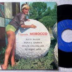 Discos de vinilo: ORQUESTA MOROCCO - RICO BAION - EP 1963 - ODEON. Lote 198928266