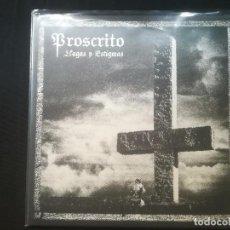 Discos de vinilo: PROSCRITO - LLAGAS Y ESTIGMAS. Lote 198928306