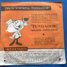 Discos de vinilo: THE YOUNG ONES - EL TWIST (DISCO SORPRESA FUNDADOR) 10.013 (D:NM). Lote 198930841