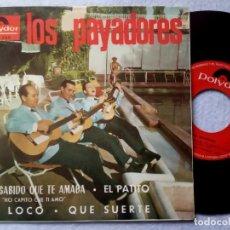 Discos de vinilo: LOS PAYADORES - HE SABIDO QUE TE AMABA - EP 1963 - POLYDOR. Lote 198931392