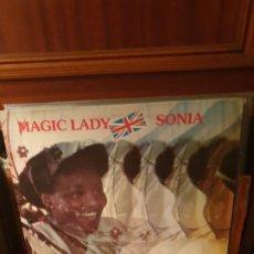 Discos de vinilo: SONIA / MAGIC LADY / D-ROY RECORDS 1980. Lote 198931770