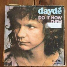Discos de vinilo: JOEL DAYDÉ - DO IT NOW / THEM - SINGLE MOVIEPLAY SPAIN 1972. Lote 198934388