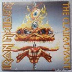 Discos de vinilo: IRON MAIDEN - THE CLAIRVOYANT / THE PRISONER (LIVE) - SINGLE 2014 - PARLOPHONE - NUEVO / PRECINTADO. Lote 198934840