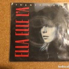 Discos de vinilo: FRANCE GALL – ELLA ELLE L'A SELLO: APACHE – 248 287-7 FORMATO: VINYL, 7. Lote 198934966