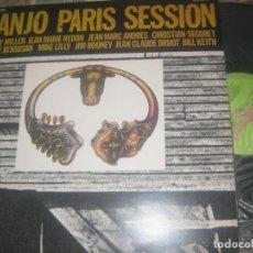 Discos de vinilo: BANJO PARIS SESSION-WENDY MILLER + JEAN MARIE REDON + JEAN MARC ANDRES (GUIMBARDA -1979) OG ESPAÑA. Lote 198936201