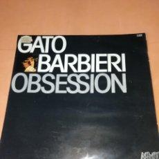 Discos de vinilo: GATO BARBIERI . OBSESSION. AFFINITY RECORDS . 1979. Lote 198938515