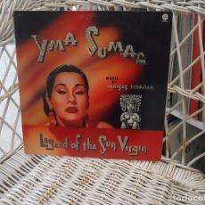 Discos de vinilo: YMA SUMAC – LEGEND OF THE SUN VIRGIN.LP REED USA 1978 DE LP DE 1952.CAPITOL RECORDS – SM-299 . Lote 198942980