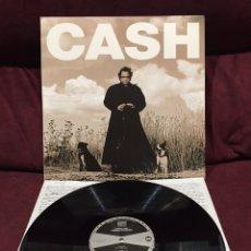 Discos de vinilo: JOHNNY CASH - AMERICAN RECORDINGS LP, 180 GRAMOS. Lote 198944212