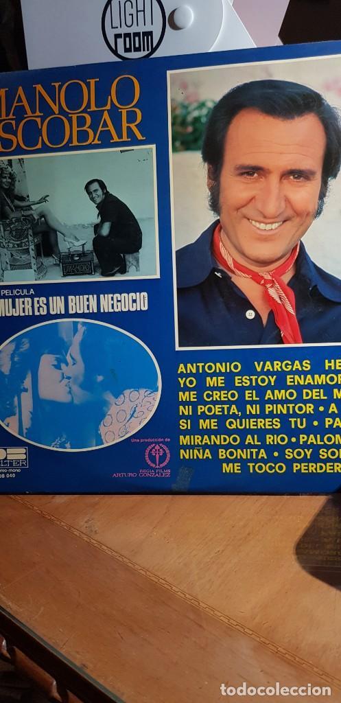MANOLO ESCOBAR. LA MUJER ES UN BUEN NEGOCIO 1977 (Música - Discos de Vinilo - EPs - Flamenco, Canción española y Cuplé)