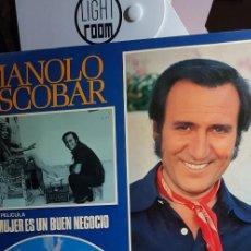 Discos de vinilo: MANOLO ESCOBAR. LA MUJER ES UN BUEN NEGOCIO 1977 . Lote 198949333