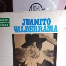 Discos de vinilo: JUANITO VALDERRAMA.SERIE ETIQUETA VERDE 1973. Lote 198949488
