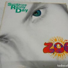 Discos de vinilo: ZOE ‎– SUNSHINE ON A RAINY DAY. Lote 198951363
