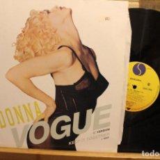 Discos de vinilo: MADONNA VOGUE KEEP IT TOGETHER / 1990 SIRE RECORDS 45 RPM . Lote 198951773