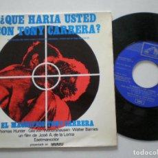Discos de vinilo: EL MAGNIFICO TONY CARRERA - GIANNI MARCHETTI - EP EMI ESPAÑA 1969 // ITALO SPANISH GROOVE PSYCH OST. Lote 198956495