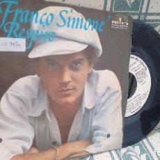 Discos de vinilo: SINGLE (VINILO)-PROMOCION- DE FRANCO SIMONE AÑOS 70. Lote 198957351